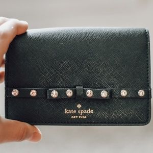Small Black Kate Spade Wallet